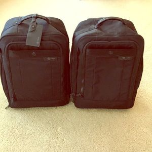 (2) TUMI T Tech Network T-Pass Brief Pack
